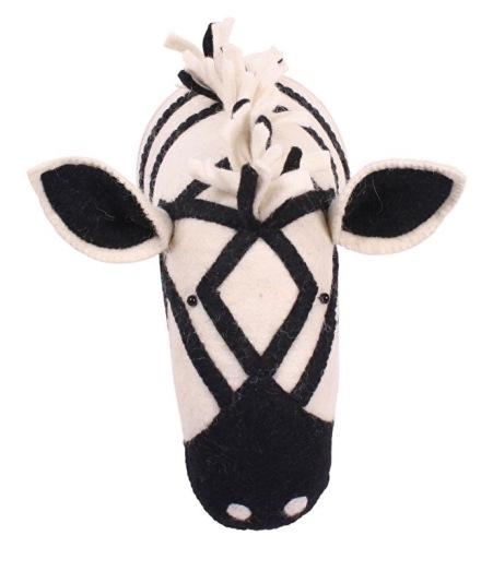 Kidsdepot - zebra - dierenkop