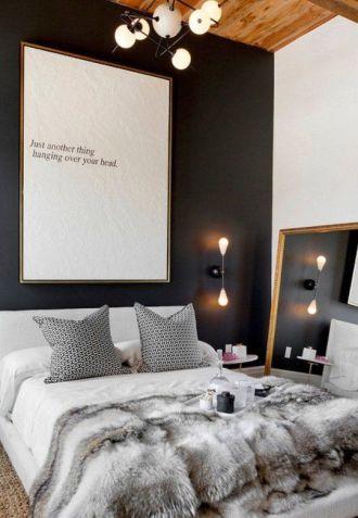 Zwarte muur - licht kunstwerk