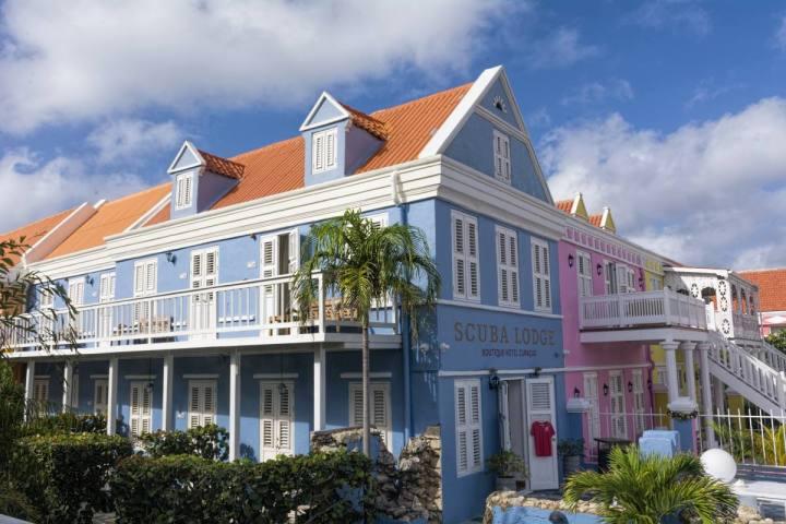 Curacao Part 3 verblijfplaatsen Scuba Lodge Willemstad
