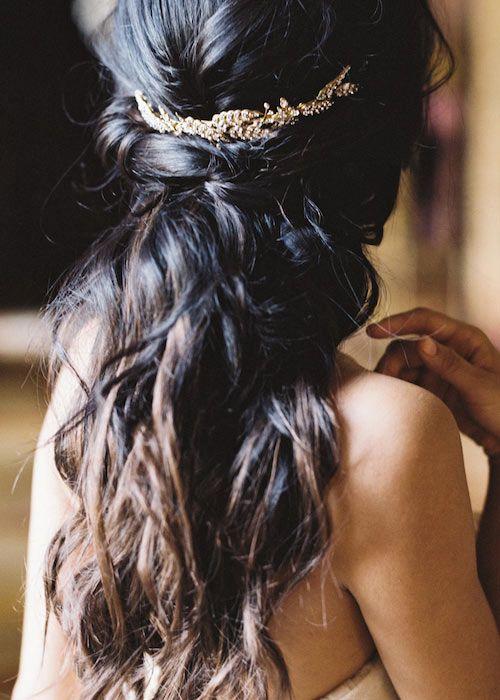 De perfecte hairdo's voor een bruiloft half up 2