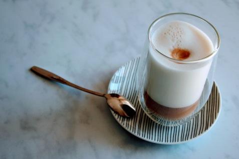 Oatly Haver Barista latte machiato