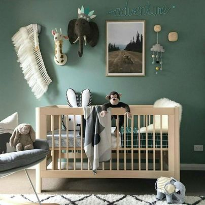 Pinterest babykamer inspiratie animal 5