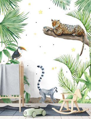 Pinterest babykamer inspiratie animal 6