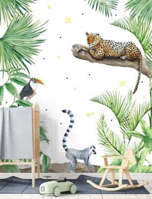 Pinterest babykamer inspiratie animal 6