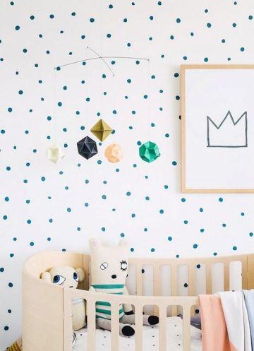 Pinterest babykamer inspiratie dots 1