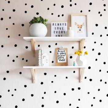 Pinterest babykamer inspiratie dots 4