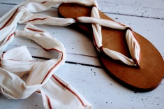 Raramuri sandalen striped ribbon 2