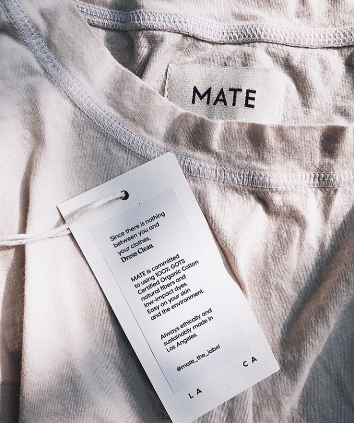 Mate the label