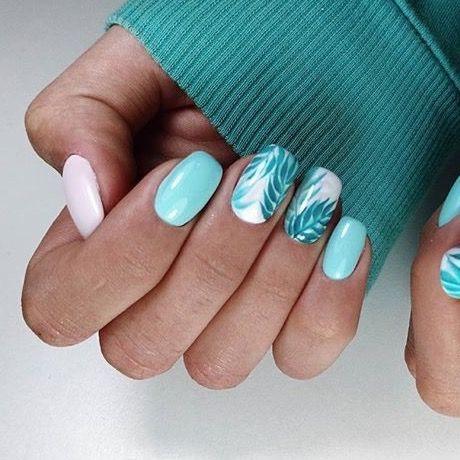 Zomer nageltjes