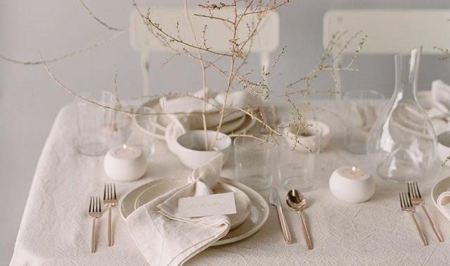 Inspiratie voor het aankleden van jeeettafel