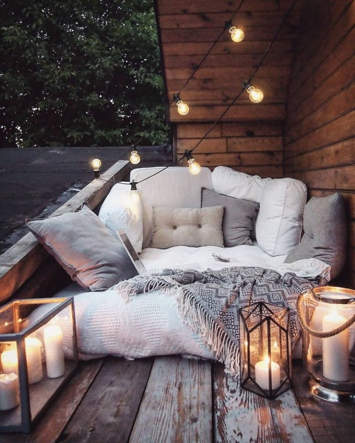 Cozy balkon