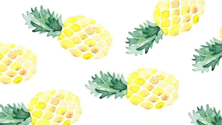 Ananas schotel