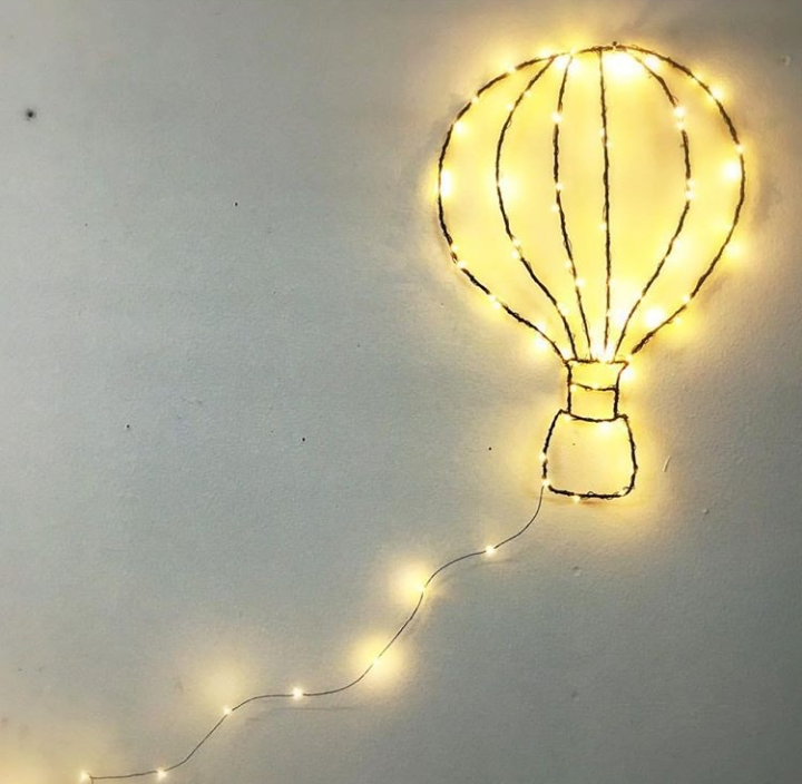Baby lichtjes