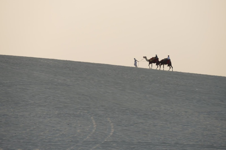 Slapen in dewoestijn
